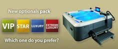 New optional pack Beauty Luxury. Which one do you prefer?