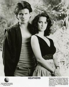 Christian Slater & Winona Ryder in Heathers (1988)
