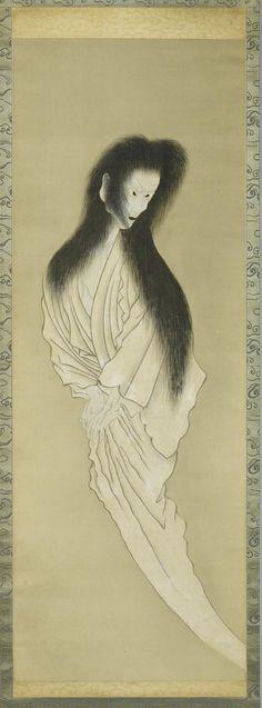 Japanese ghost Japońskie  Supernatural...