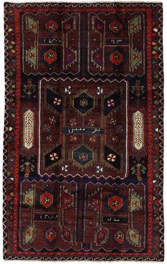 SahreBabak - Afshar Persialainen matto 230x142