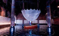 Yohji Yamamoto takes over London – Wallpaper Norfolk House, Fashion Installation, Yoji Yamamoto, Peter Saville, Paolo Roversi, Fashion Wallpaper, Wallpaper Magazine, The V&a, Painting Gallery