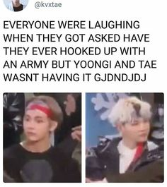 "Lol Yoongi would have been my reaction. xD ""really? Ya'll askin these kind of questions?"" -_-"