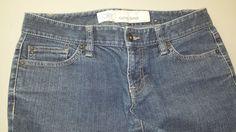 Ann Taylor Loft Blue Jeans Stretch Curvy Boot Womens Sz 2 #AnnTaylorLOFT #BootCut http://stores.ebay.com/Castys-Collectibles?_dmd=2&_nkw=ann+taylor+loft+jeans