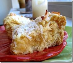 Coconut Cream Cake Batter Blondies. She has many Cake Batter Recipes. Must repin!