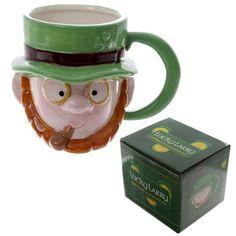 PRICE Novelty Lucky Leprechaun Smoking Pipe Ceramic Mug, Dimensions: Height Width Depth More novelty mugs on our website ; Novelty Mugs, Novelty Items, Kitchenware, Tableware, Leprechaun, Drinkware, Irish, Coffee Mugs, Shapes