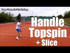 How To Handle Heavy Topspin and Slice Shots In Tennis