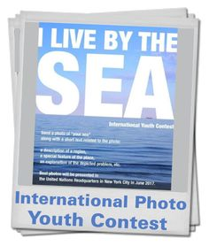 """""""""""I live by the Sea"""" International Photo Youth Contest"""" by kotynska-zielinska ❤ liked on Polyvore featuring art"""