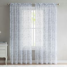 Ivanna Burnout Grommet Window Panels (Set of by Duck River at Gilt Grommet Curtains, Sheer Curtains, Window Curtains, Beaded Curtains, Hanging Curtains, Curtain Shop, Window Panels, Curtain Panels, Bathroom Curtains