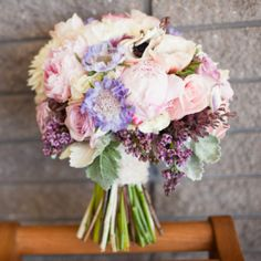 We absolutely LOVE the bouquet from this San Luis Obispo wedding clicked by Cameron Ingalls!