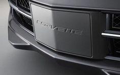 Carbon Flash Front Aero Panel License Plate Frame C7 Corvette Stingray