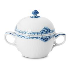 "Royal Copenhagen ""Princess"" Covered Sugar Bowl"