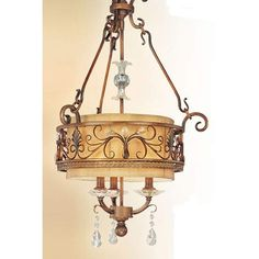 Heirloom Three-Light Chandelier