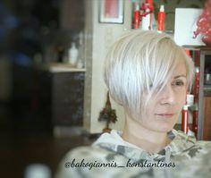 #silverhair #bobhaircut #hairstyle #haircut #atalanti