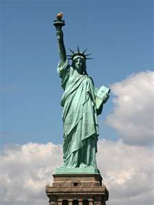 The Statue of Liberty is technically a neoclassical sculpture...