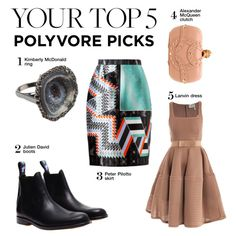 """""""Your Top 5 Polyvore Picks"""" by polyvore-editorial ❤ liked on Polyvore"""
