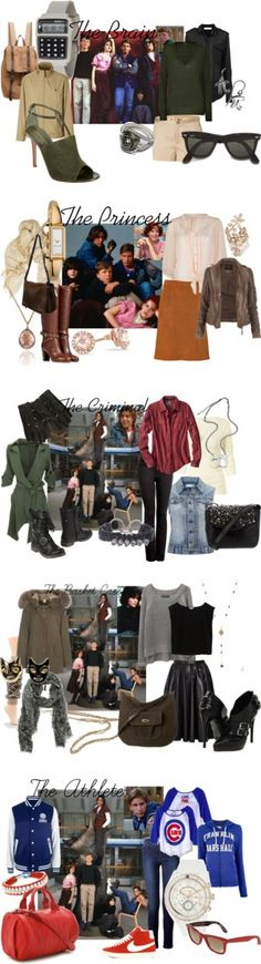 """the breakfast club"" by samplotzke on Polyvore"