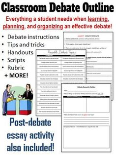 first speaker debate template - public speaking activity 15 minutes of fame real world
