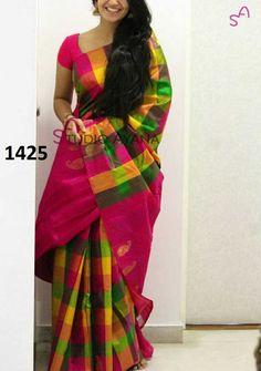e855f55387 Zarna silk saree digital printed with blouse Soft Silk Sarees, Cotton Saree,  Designer Sarees