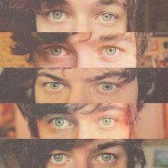 A bunch of YouTubers beautiful eyes