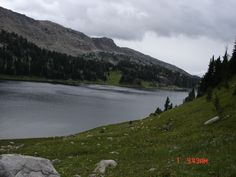 Lake in the Beartooth Mountains in Montana.  It sits at approximately 10,000 feet above sea level.