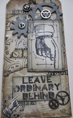inkypinkycraft: Leave Ordinary Behind