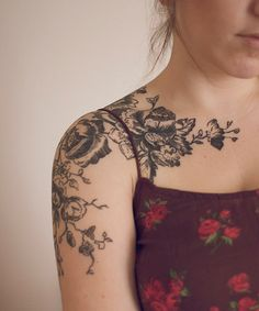 How does your garden grow?: Tattoo Files: Feathers and Foliage