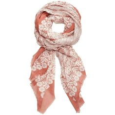 Vintage Lace Scarf found on Polyvore
