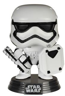 Star Wars First Order Stormtrooper Shield Funko Pop
