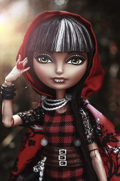 Ever After High Cerise Hood | Flickr - Photo Sharing!