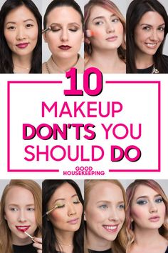 10 Makeup Rules You Should Totally Break - Makeup Don'ts You Should Do