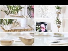 DIY Desk + Home Office Decor Ideas - YouTube