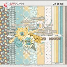 Simply You - Mini Kit  ♥♥Join 3,900 people. Follow our Free Digital Scrapbook Board. New Freebies every day.♥♥