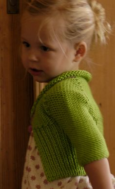 Ravelry  the End of Summer Baby Jacket pattern by Karen Clements Tejidos  Para Bebé 7427681ee4a8