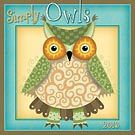 Simply Owls 2015 Wall Calendar: 9781416295785   Assorted Folk Art   Calendars.com