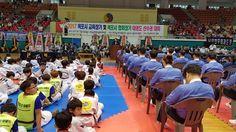 목포교육지원청 교육장기 및 목포시협회장기 태권도대회 개최