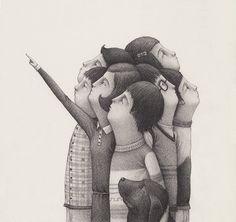 Black Anthropomorphic Illustrations David Alvarez 4