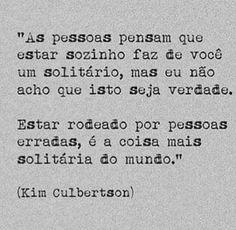 Solidão #frases #citações