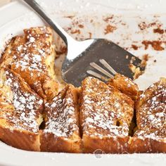 Texas French Toast Bake - One of our favorite breakfast/brunch items ever.