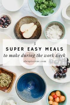 super easy meals