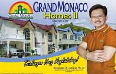 """GRAND MONACO HOMES II Located at Kingspoint Subd., Bagbag, Quezon City, Philippines-- Brgy. Talipapa, Quirino Highway; Near Novaliches Bayan – Wet and Dry Market """"BAGSAKAN"""";   Townhouse/Premiere 52sqm x 87 sqm 4Bedrooms x 2Toilet & Bath   Amenities: Walled subdivision with secure gate 24 hour security with CCTV Electricity provided by Meralco"""