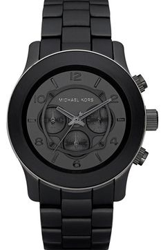 Beautiful watch. He would <3 it American Gentleman | Michael Kors Watch