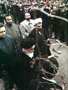 Ayatollah Khomeini arrives in Paris in the fall of 1978 after years of exile in Iraq.