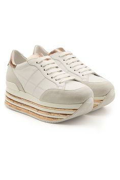 Redirecting you to Stylebop for Hogan Maxi Platform Sneakers with Leather and Suede. Pop Fashion, Fashion Design, White Style, Platform Sneakers, Proenza Schouler, Designer Shoes, Style Inspiration, Flats, Heels
