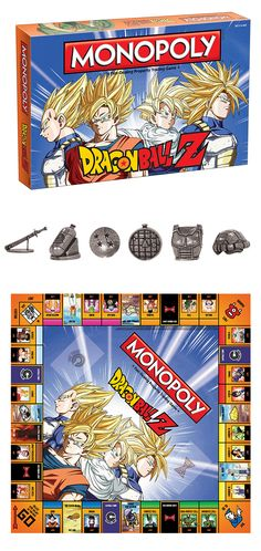 RAISE YOUR POWER LEVEL! We find the Z Fighters in an epic battle of dice rolling and real estate! Recruit legendary warriors like GOKU, VEGETA and GOHAN to help in this adventure of MONOPOLY®: Dragon Ball Z! Take a  chance to be the richest fighter in the world as you encounter the RED RIBBON ARMY and the CAPSULE CORP. Friends like BULMA and MASTER ROSHI can help you along the way on your path to greatness! Can you collect all the deeds and be the greatest? #monopoly #dragonballz #usaopoly