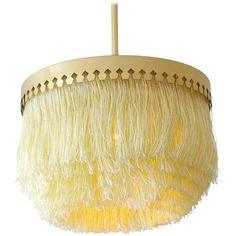 Vintage Hans-Agne Jakobsson Ceiling Lamp with Fringes