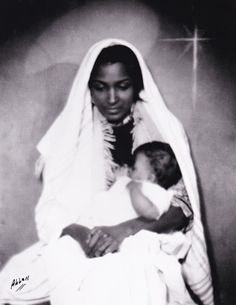 Brown Madonna and Child – Photographed by Edward Latimore Allen in Harlem photographer Edward L. Allen Edward Allen grew up in New York City during the Harlem Renaissance period. When Allen was 16 years old and still a. Madonna Young, Madonna And Child, Madonna Music, Black Like Me, Still I Rise, American Children, Tony Ward, Photographs Of People, Black Image