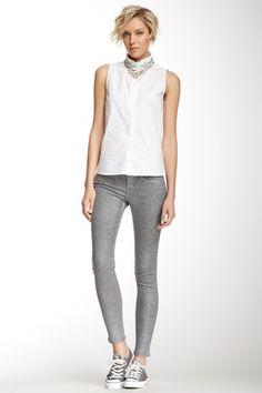 The Skinny Glitter Jean on HauteLook