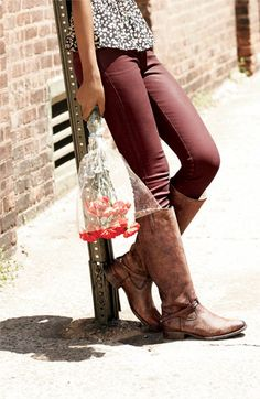 Frye 'Lindsay Plate' Boot | Nordstrom....think these might be the brown ones I want!