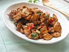 Thai basil chicken.....really, really liked this....it's a keeper!