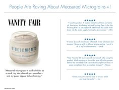 @VanityFair and more raved about Measured Micrograins +